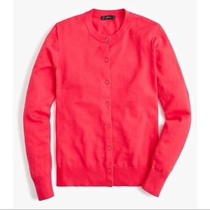 NWT J.Crew Cotton Jackie Cardigan Sweater, Cardi M